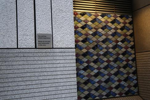 London Street Art Tile Work