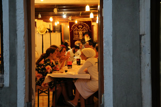 Venice Italy, Jewish Quarter, Sabath
