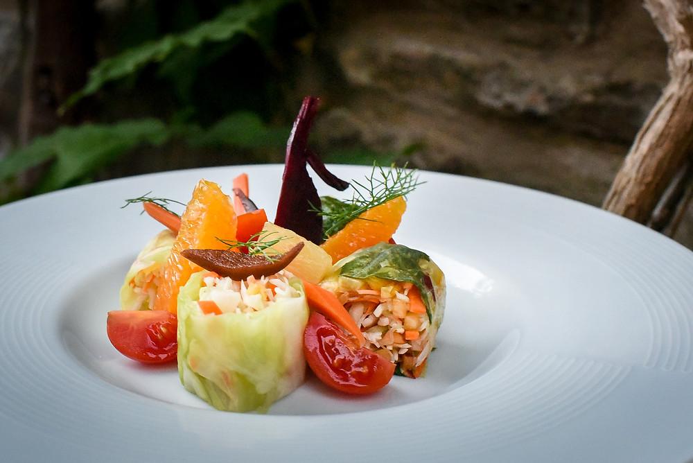 Veggie Spring Roll: Hvar Chef