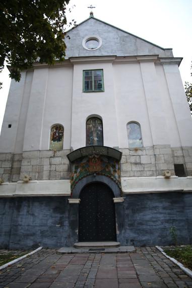 Old Lviv Church 13th Century