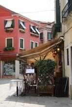 Venice Italy outdoor dining