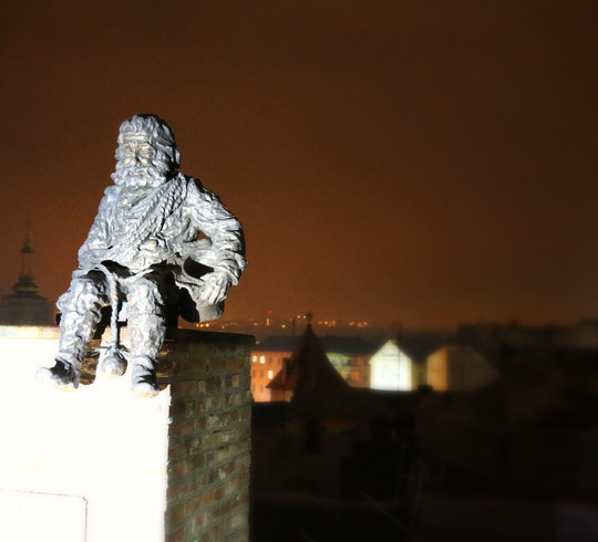 A Statue In Lviv - Chimney Sweep