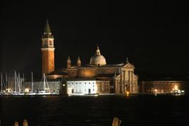 Venice Italy at night