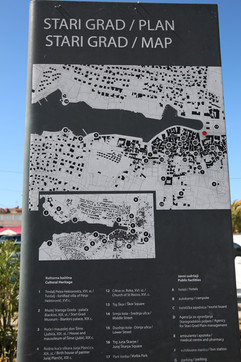 Stari Grad Map