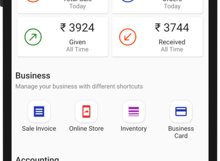 A whole new invoicing app that comes with multiple benefits