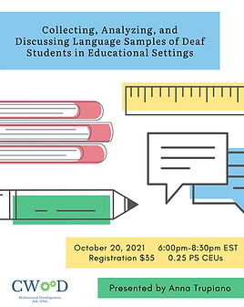 PNG Collecting, Analyzing, and Discussing Language Samples of Deaf Students in Educational