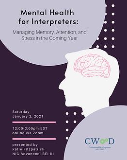 Mental Health for Interpreters_ Managing