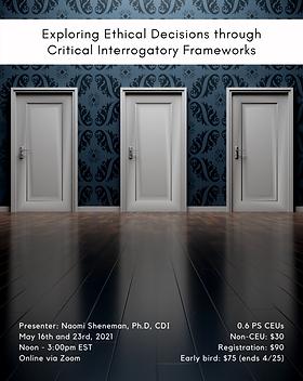 Exploring Ethical Decisions through Crit