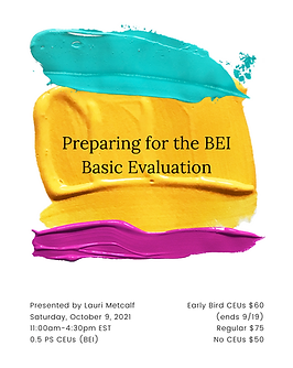 PNG Preparing for the BEI Basic Evaluati