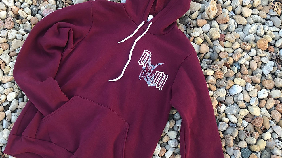 Graphic - Maroon Pullover