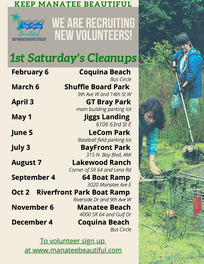 1st Saturdays Cleanups Flyer.png