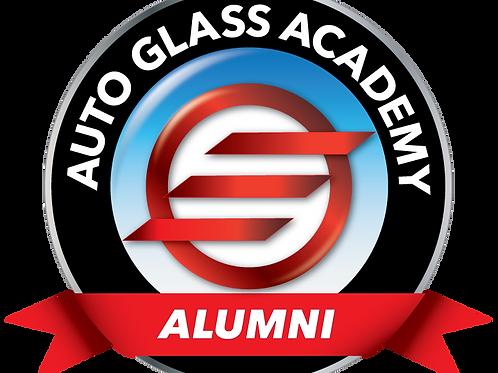 Auto Glass Academy Alumni Decal