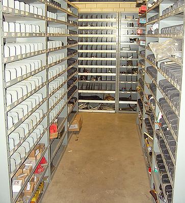 Bezooijen-Schreuders Mechanisatie Onderdelen Magazijn