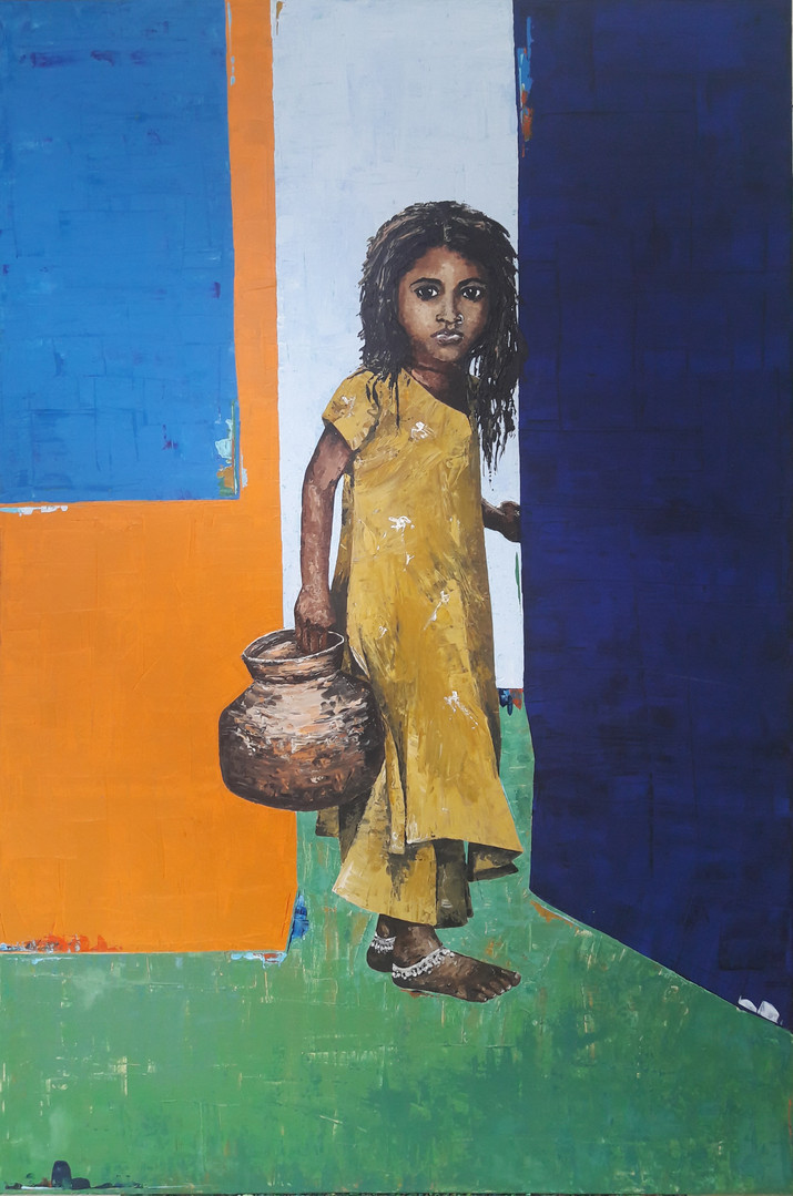 Indian Girl - Prozess