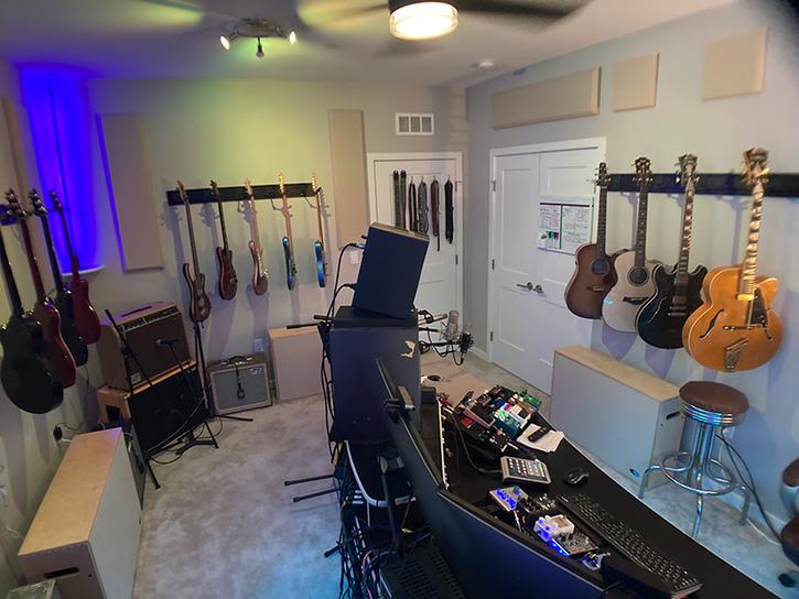 Studio Guitars Views