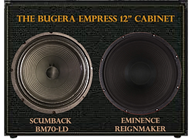 "Twin 12"" Speaker Cabinet for PRS Sonzera 50 head"