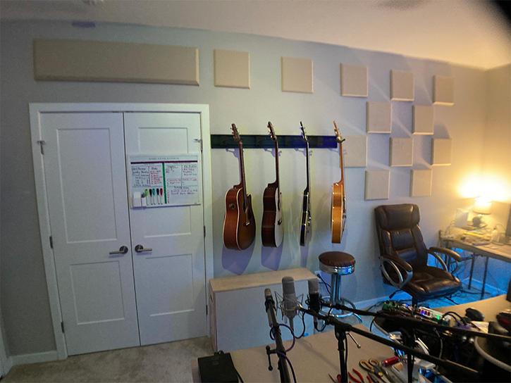 Studio Room Acoustic Treatments Views