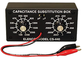 CS440 Capacitor Substitution Box