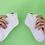 Thumbnail: [Sneakersok] knoopje metaal