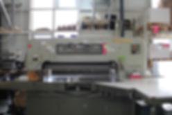 Schneidemaschine zur Weiterverarbeitung von Druckerzeugnissen