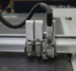 Weiterverarbeitung von Druckerzeugnissen mit Hilfe unseres Zünd Schneidplotters