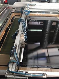 Siebdruckmaschine für Großformate