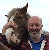 Phil with one of our New Forest ponies