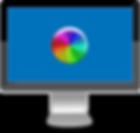 Mac showing spinning rainbow wheel