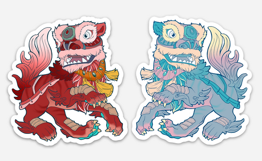 Sticker - Foo Dogs
