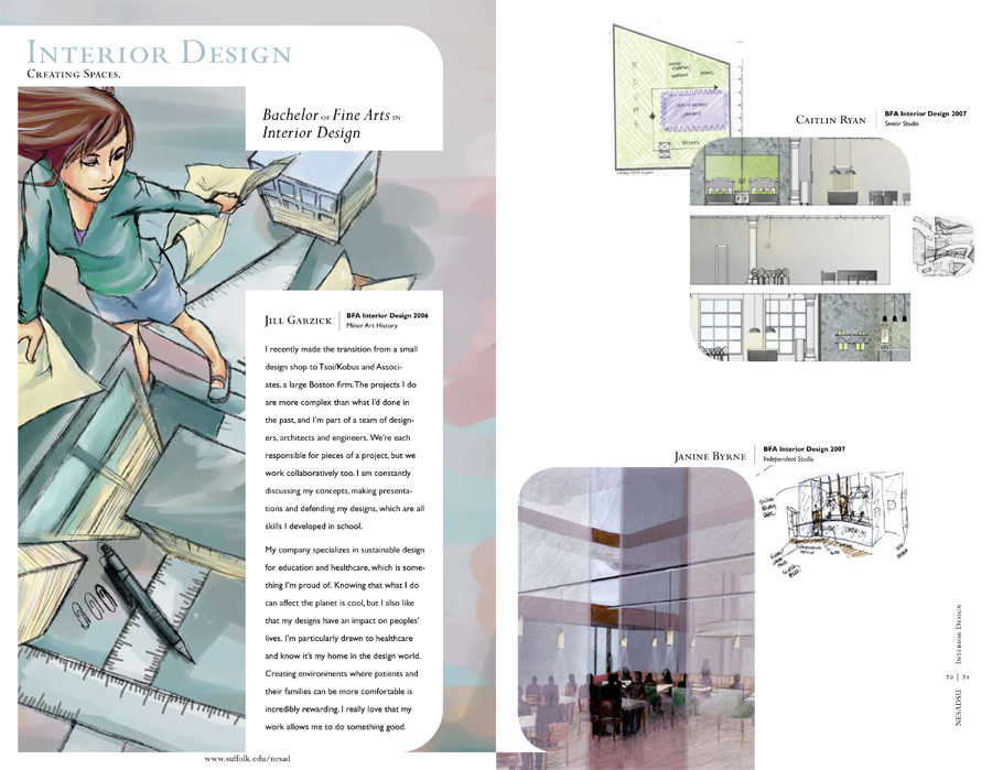 NESAD Viewbook - Interior Design