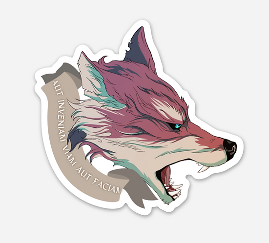 Sticker - Motivational Wolf