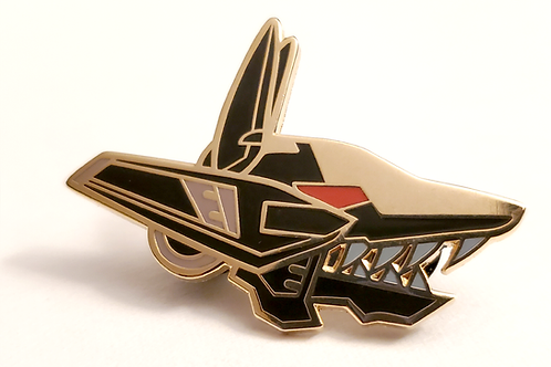 Enamel Pin - Shadow Fox