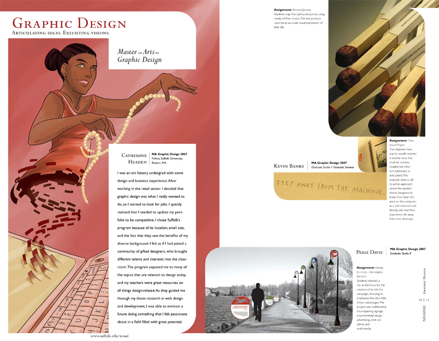 NESAD Viewbook - Graphic Design, MA