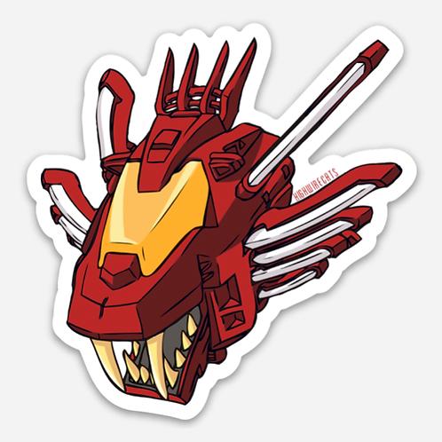 Sticker - Blade Liger Red
