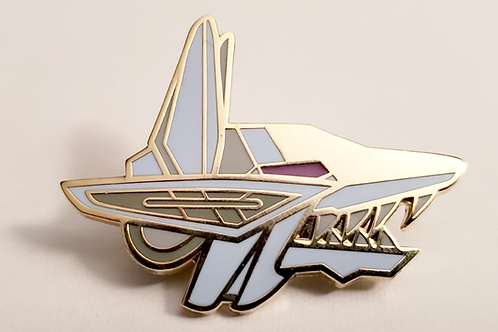Enamel Pin - Mirage Fox