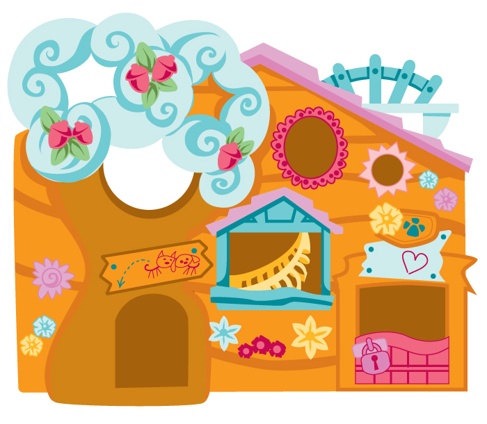 Littlest Petshop Clubhouse - Vector