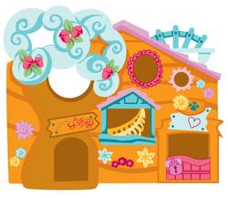 Littlest Petshop Clubhouse - Vector