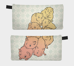 zipper pouch - hampigs