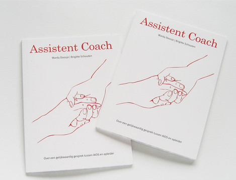 "Book cover design ""Assistant Coach"""