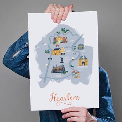 Map Haarlem
