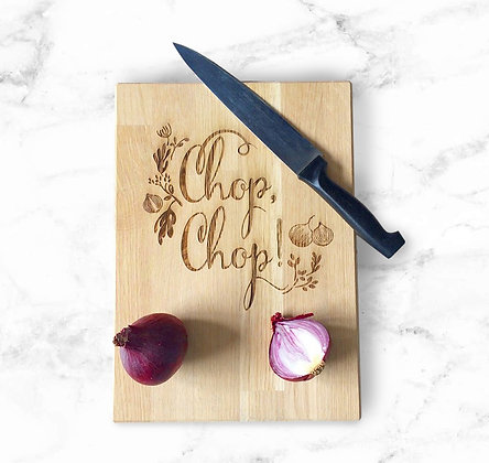 Chop-chop Cutting board - LIMITED RUN -