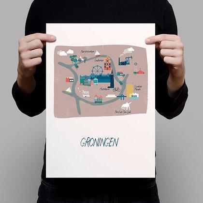 Map Groningen