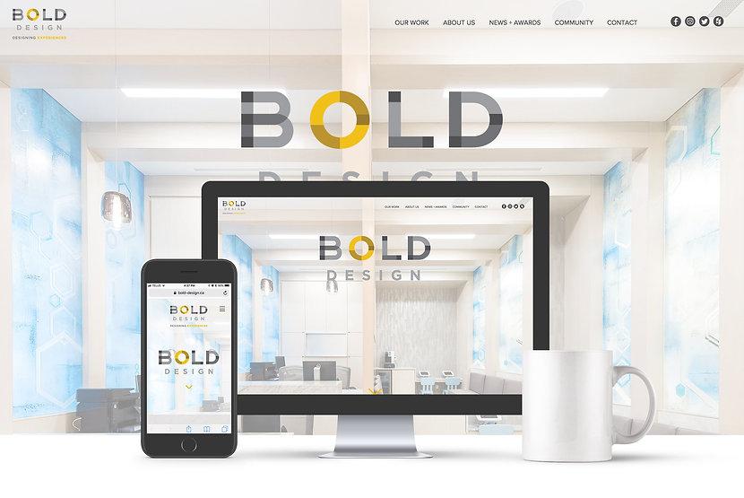 Bold Design Inc. Website | Juliana Laface Graphic Design & Web Design | Edmonton, AB