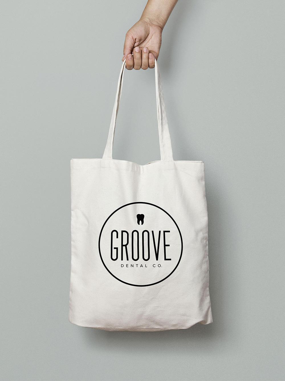 Groove Dental Logo Application