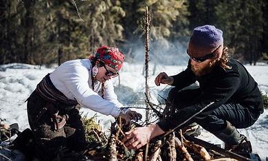 Winter activites at Aski Holistic Adventures