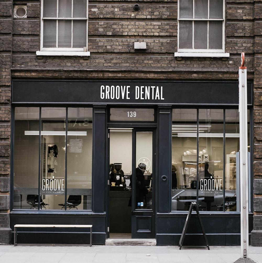 Groove Dental Outdoor Signage