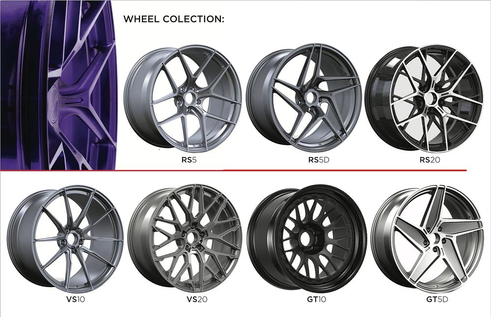 Litespeed Racing Wheel Collection