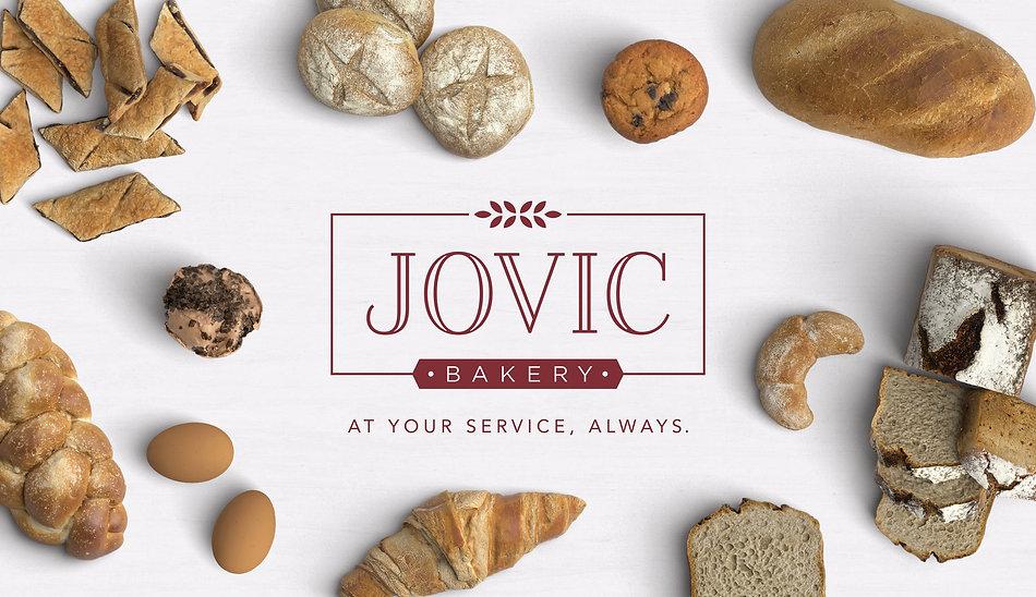 Jovic Bakery Logo Design | Juliana Laface Graphic Design & Web Design | Edmonton, AB