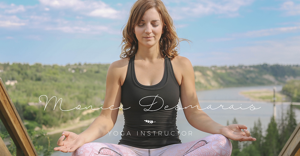 Yoga Instructor Logo| Juliana Laface Graphic Design & Web Design | Edmonton, AB