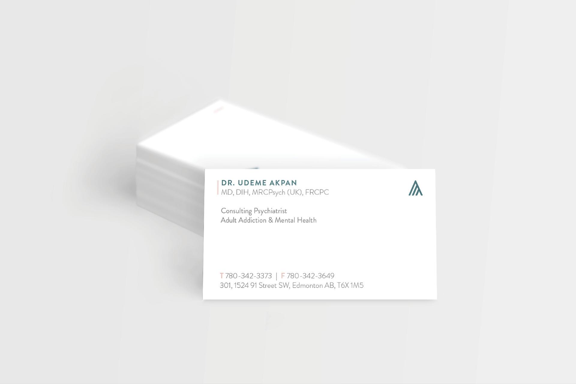 Acorvia Health Business Cards